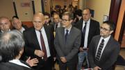 Un momento in cui, col Direttore Generale Arnas Civico Giovanni Migliore, si prende visione delle novità tecniche in atto da adesso  (Foto Angelo Modesto)