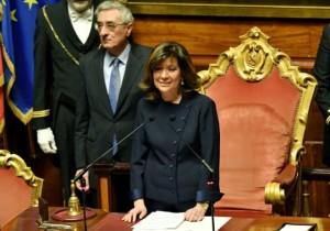 Maria Elisabetta Casellati, vice presidente della Repubblica: siamo in un altro pianeta...