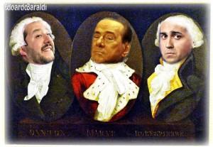 I nuovi Marat, Danton e Robespierre... Bravo iol vgnettista