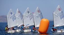 Un immagine di un recente campionato nazionale a squadre nelle acque di Mondello che hanno adesso ospitato i regionali  2018