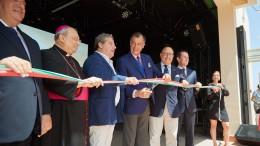 Lapunzina, Mons.Marciante, Micciché, Henri Giscard d'Estaing, Armao, Pappalardo