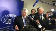 Antonio Tajani (Forza Italia) presidente del Parlamento europeo molto apprezzato a Bruxelles.