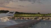 Porto Xifonio La passeggiata lungo la banchina di riva come sarà