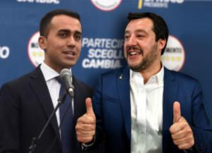 Uniti per Dio chi vincer ci può: Salvini può non piacere agli altri ma Di Maio è con lui: è nato dove nessuno è fesso e sa interpretare il vento...
