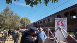 In treno fino alla Colimbetra e a pochi metri dal Tempio di Vulcano... Destagionalizzazione e fidelizzazione fra i fini primari... (Foto G.Scargiali)