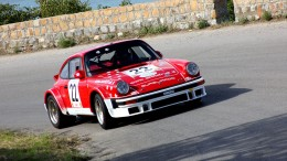 Natale Mannino  con la sua Porsche 911 vincitore di tante cronoscalate.