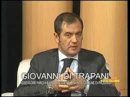 L'avv. Giovanni Di trapani, protagonista di un interessante intervento. Qui è ripreso nel corso di un'intervista a Siciliauno a Controcorrente.