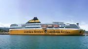 La M/N PASCAL LOTA  una delle recenti Unità della Corsica Sardinia Ferries. Adesso queste navi approderanno anche a Trapani...
