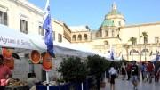 Piazza dell repubblica fra il duomo, il lungomare e la Casbah: una delle più belle piazze d'Italia è il cuore del Blue sea land Expo.