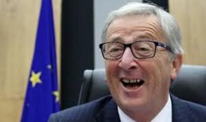 """La poco raccomandabile i immagine di J. C. Juncker,uno dei più influenti personaggi dell'Ue, certamente ben disposti al ruolo di """"viceré""""."""