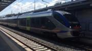 Il Jazz, ilprimo nuovo treno che collega Palermo e l'aeroporto Falcone Borsellino a Punta Raisi.