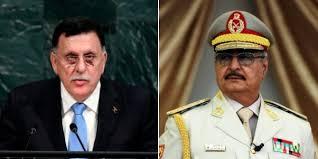 """Al Serraj e Haftar. ll secondo è sostenuto da Putin e dall'Egitto. L'Italia appoggia, almeno ufficialmente Serraj, uomo dell'Onu. La Francia fa forse la corte ad Haftar. Il popolo libico parla spesso di """"pace fatta"""", ma come? In qual modo?"""