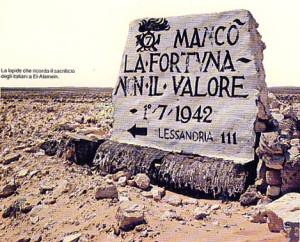 """Mancò la fortuna non il valore, motto coniato ad El Alamein è il motto dei """"carristi"""" italiani"""