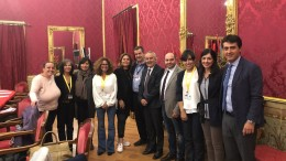 Foto ricordo: in Sala Rossa all'Ars la Commissione Attività produttive incontra Donne di mare.