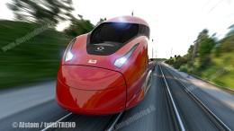 Alstom NTV-EVO250: La Alstom, che sta fornendo anche i treni per le linee locali (ma anche a paesi esteri), è all'avanguardia nel mondo con  tre stabilimenti attivi. Rispetto ai treni su tappeto magnetico, anche in Cina (vasto il programma ferroviario cinese) e nel Far Est , per l'applicazione su vasta scala, è scelta la rotaia. Il know how italiano, con radici nell'anteguerra è richiesto.