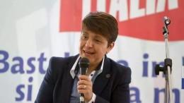 """L'assessore alle autonomie locali Bernadette Grasso di Forza Italia. Piccolina si statura,viene definita dal Presidente Musumeci """"piccola ma preziosa""""..."""