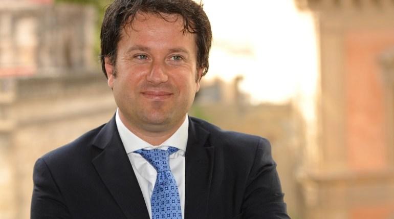 L' On.le Giuseppe Milazzo, capogruppo di Forza Italia all'Assemblea regionale siciliana