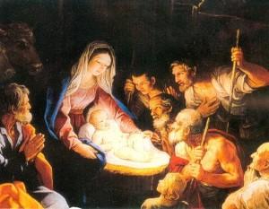 Così dobbiamo vederlo:con il presepe -la improvvisa culla -in piena luce. Gesù è, infatti, la luce e ha cambiato il mondo con il suo messaggio d'amore.