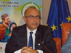 Nino Carlino presidente del Distretto della pesca di Mazara del Vallo.E'un esempi di distretto produttivo adattabile agli altri settori dell'intero alimentarismo.