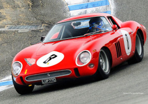 Ferrari GTO 1961 in salita: stupenda!