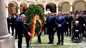 Tajani è stato già ospite di Micciché per commemorare i morti di Nassyria.