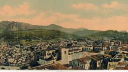Termini Imerese: il Panorama in una storica stampa in 4 colori (particolare).