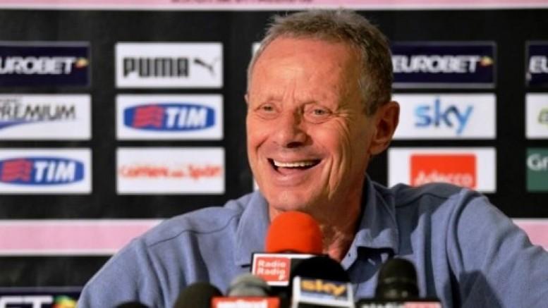 Zamparini felice ai tempi d'oro per lui e per il Palermo che esordisce persino in Coppa...