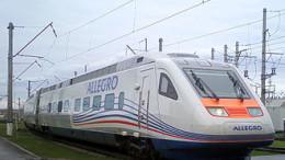 """L'elettrotreno """"Allegro"""" della Alstom. Divenuta italo francese la fabbrica, conserva la tecnologia italiana e costruisce in Italia. Da qui lo stesso nome. E' della serie Pendolino.  Da poco la Alstom ha programmi nuovi a Palermo (Brancaccio) e sta assumendo personale."""
