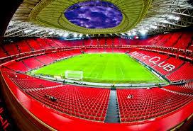 Atletico Bilbao,stadio, visione interna