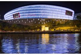 Atletico Bilbao stadio, visione esterna.