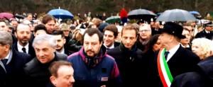 Antonio Tajani e Matteo Salvini a Basoviza non hanno avuto messe parole...