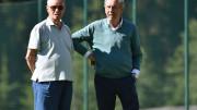 Maurizio Zamparini e Rino Foschi ai tempi d'estate e dei pregiati acquisti rosanero. Eccoli insieme ad un raduno nel nord Italia....