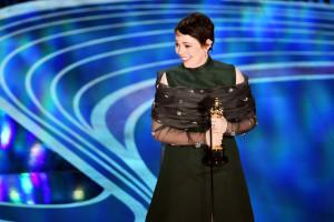 Olivia Colman per The Favourite è lamogliore attrice dell'anno. (Kevin Winter/Getty Images)