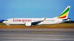 Etiopian Airlines, una compagnia non meno affidabile di quelle europee. Nell'immagine Boeing 737 Max 8.