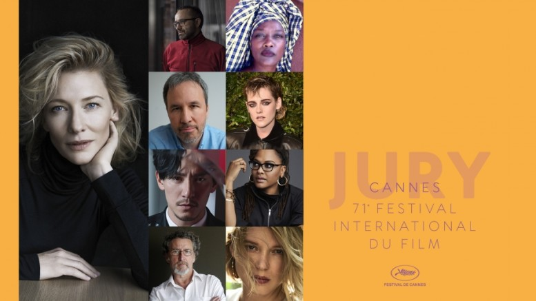 Jury of the 71st Festival de Cannes © RR