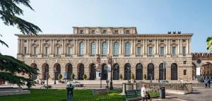 Palazzo Gran Guardia a Verona, sede del congresso delle Famiglie.