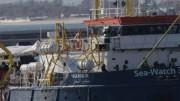 La Sea Watch è una vecchia tinozza indegna di navigare con similari finalità di salvamento accanto alle unità della Marina e della Guardia costiera italiana.