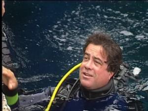 """Sebastiano Tusa subacqueo:ilfondodelmare e i tesori ivi nascosti sono stati la sua passione. Ha lanciato ilconcetto di """"museo sommerso""""."""