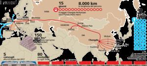 """La via della seta per terra e per mare. Questa sommaria immagine non guarda lontano: Trieste e Atene sono protagoniste del passaggio dal Mediterraneo.Xi Jinping è a O Palermo per coinvolgere la Sicilia, ma """"ci vuole"""" il ponte sullo Stretto."""