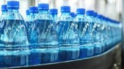 Acqua minerale in produzione.