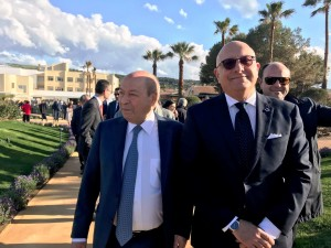 L'imprenditore turistico Antonio Mangia e il vicepresidente della Regione Gaetano Armao