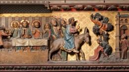 Pannelli del coro di Notre Dame. Scene della vita di Cristo:  Pier de Chelles, Jean Ravy, Jean le boutellier.
