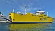 Telepass, il grande traghetto della Caronte & Tourist sul quale è avvenuto l'incontro