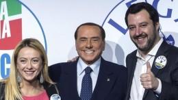 Salvini,Meloni e Berlusconi tornano a sorridere