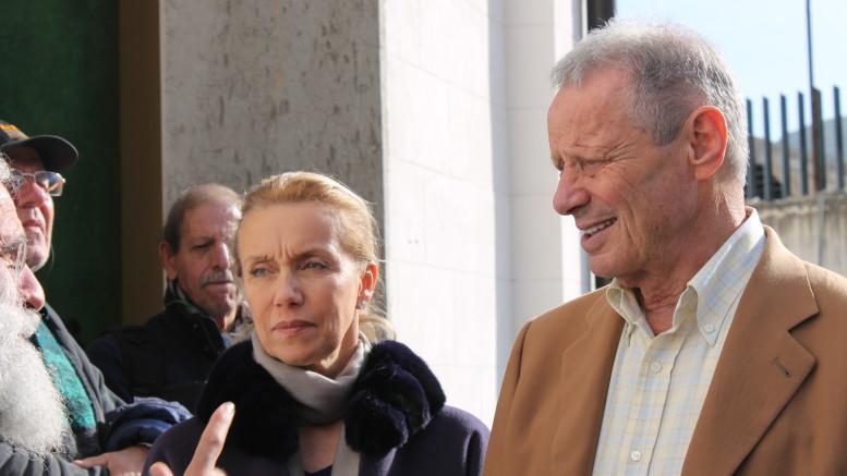 Laura Giordani e Maurizio Zamparini una coppia innamorata ed esemplare.