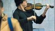Quel violinista povero alla stazione della metro di Washington D.C.