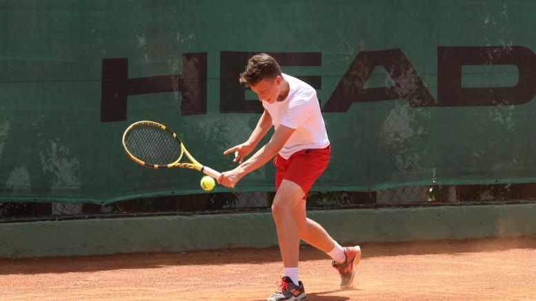 il britannico Luca Pow al Circolo del Tennis Palermo