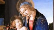 Sandro Botticelli: Madonna con bambino o Madonna del libro, tempera su tavola ( Museo Poldi Pezzoli Milano). La grazia dei nostri artisti meriterebbe un alto senso diffuso della moralità...