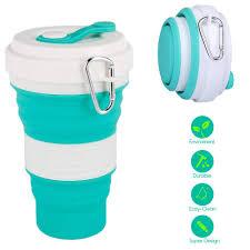 Un oggetto d'altri tempi, la tazza pieghevole, torna attuale per chi va piedi o in bici.