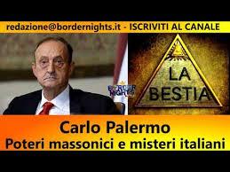 Carlo Palermo e il suo libro, La Bestia.